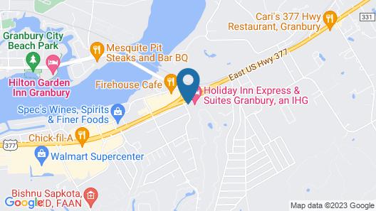 Best Western Granbury Inn & Suites Map