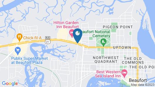 Quality Inn At Town Center Map
