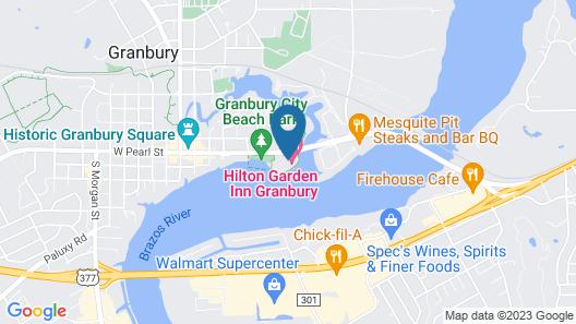 Hilton Garden Inn Granbury Map
