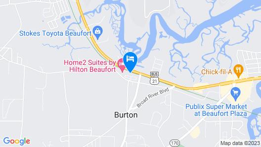 Tru by Hilton Beaufort, SC Map