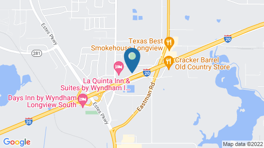 Holiday Inn Express and Suites Longview South I20, an IHG Hotel Map