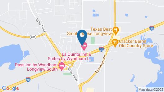 La Quinta Inn & Suites by Wyndham I-20 Longview South Map