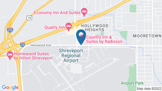 Country Inn & Suites by Radisson, Shreveport-Airport, LA Map