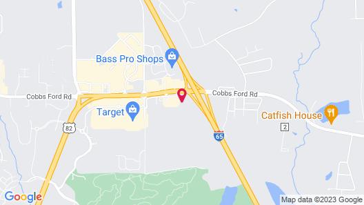 Hampton Inn & Suites Prattville, AL Map
