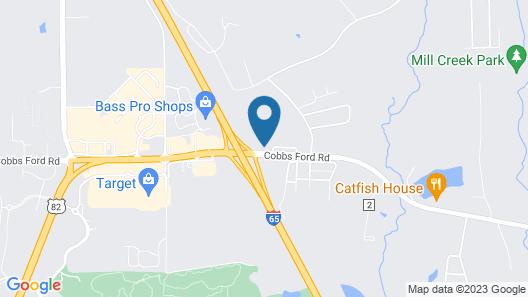 Comfort Inn & Suites Millbrook - Prattville Map