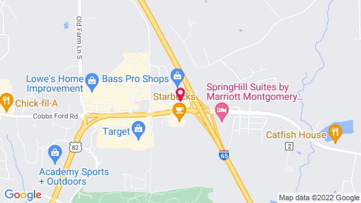 Red Roof Inn Prattville Map
