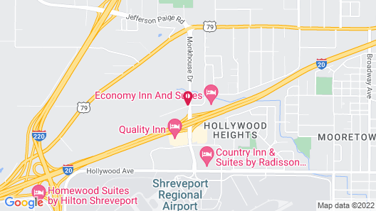 Residence Inn Shreveport Airport Map