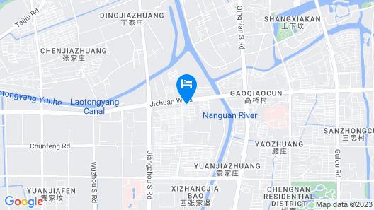 Hanting Express Hotel Taizhou Wanda Square Map