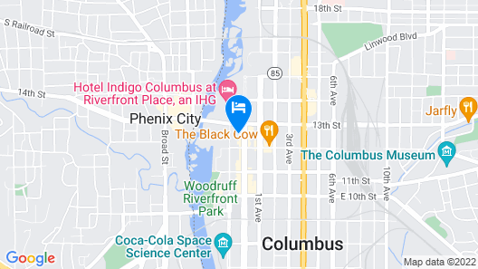AC Hotel by Marriott Columbus Downtown Map