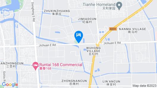 DoubleTree by Hilton Jiangsu Taizhou Map