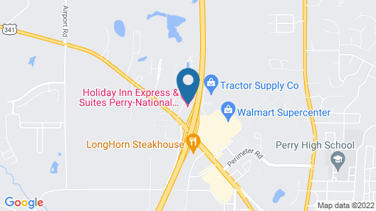 Holiday Inn Express Perry-National Fairground Area, an IHG Hotel Map
