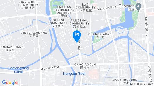 GreenTree Inn Taizhou Jichuan Road Wanda Plaza Business Hotel Map