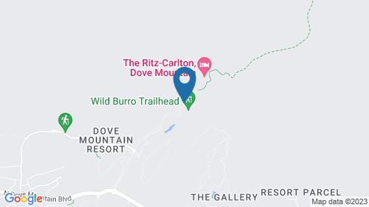 The Ritz-Carlton, Dove Mountain Map