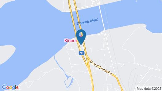 Hotel Akbars Kinara Map