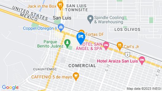 Rhino Downtown Map