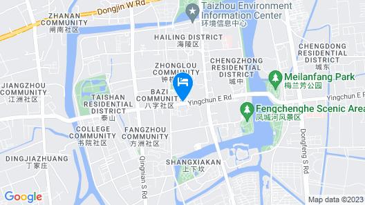 Home INN Taizhou Pedestrian Street Map
