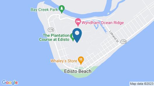 Club Wyndham Ocean Ridge Map
