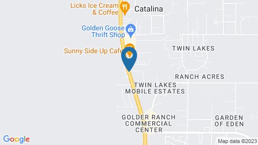 Catalina Inn Map
