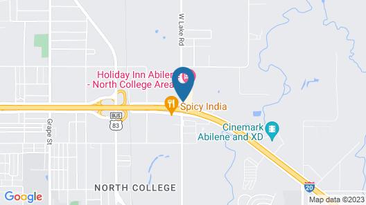 La Quinta Inn by Wyndham Abilene Map