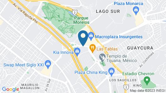 Sleep Inn Tijuana Map