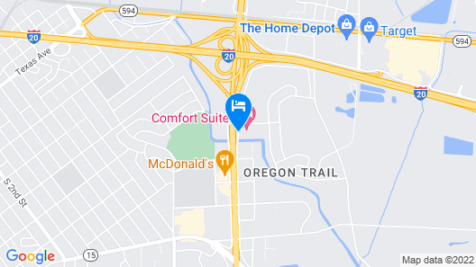 Hampton Inn West Monroe Map