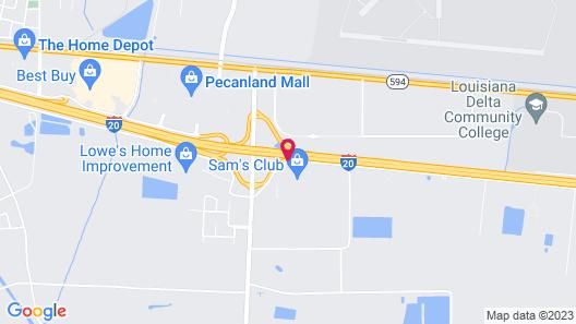 Days Inn by Wyndham Monroe Map