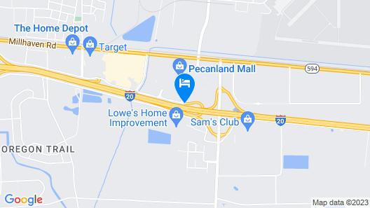 Courtyard Monroe Airport Map