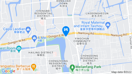 Suisse Place Hotel Residence CMCTaizhou Map