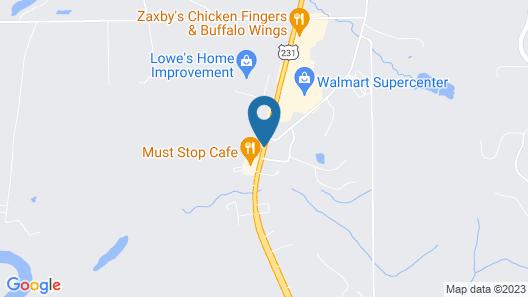 Key West Inn Wetumpka Map