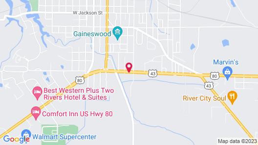 Stay Express Inn & Suites - Demopolis Map