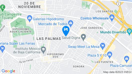 Hotel HT ole Map