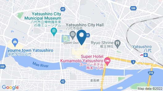 Hotel Route-Inn Yatsushiro Map