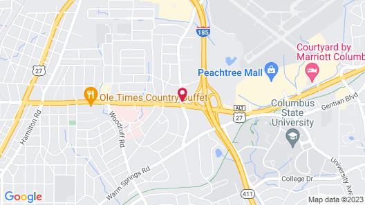 Fairfield Inn & Suites by Marriott Columbus Map