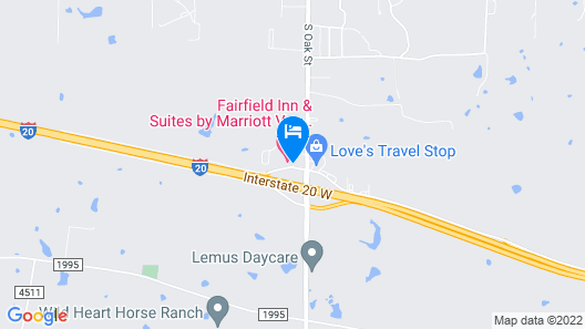 Fairfield Inn & Suites by Marriott Van Canton Area Map