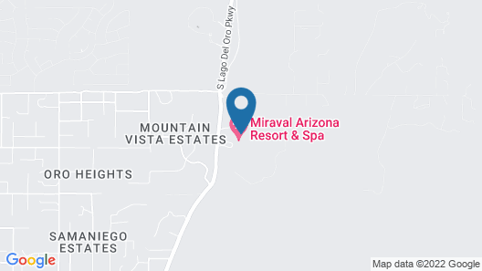 Miraval Resort and Spa - All Inclusive Map