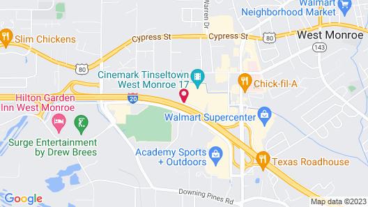 Wingate by Wyndham West Monroe Map