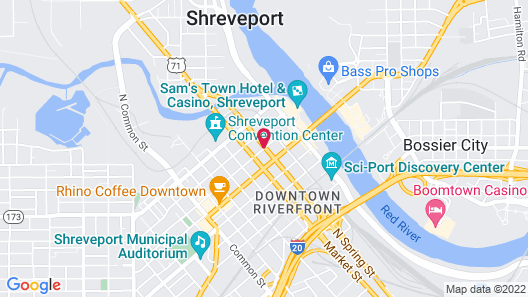 The Remington Suite Hotel and Spa Map
