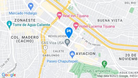 Hacienda del Rio Map