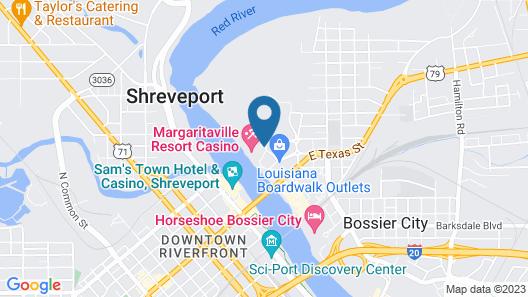 Margaritaville Resort Casino Map