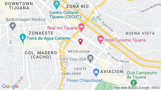Fairfield Inn & Suites by Marriott Tijuana Map