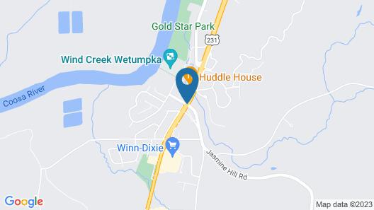 Wind Creek Casino & Hotel Wetumpka Map