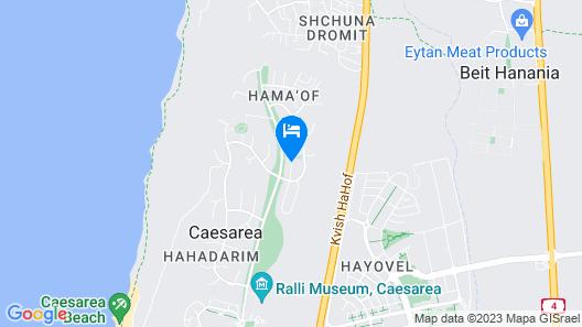 Health Spa Caesarea Map