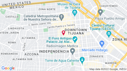 Hotel Suiza Map