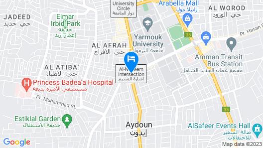 Ajnadeen Hotel Map
