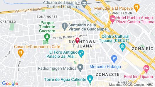 Hotel Baja Map