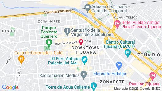 Hotel Rio Rita Map