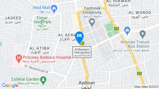Sedrah Hotel Map