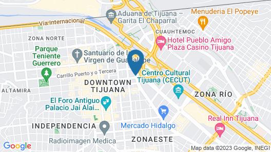 B My Hotel Map