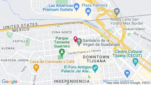 HOTEL VELARIO Map