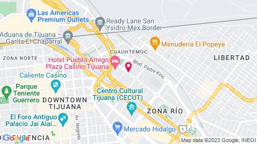 Quartz Hotel & SPA Map